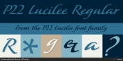 P22 Lucilee font download