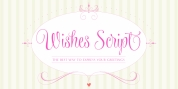 Wishes Script font download