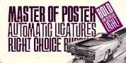 Master of Poster font download