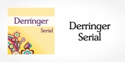 Derringer Serial font download