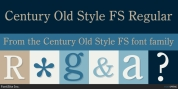 Century Old Style FS font download