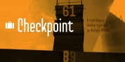 Checkpoint font download