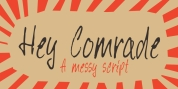 Hey Comrade font download