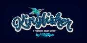 Kingfisher font download