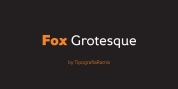 Fox Grotesque font download