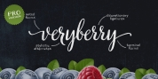 Veryberry Pro font download