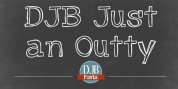 DJB Just An Outty font download