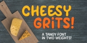 Cheesy Grits font download