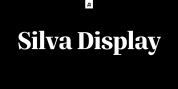 Silva Display font download