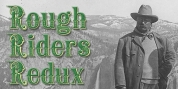 Rough Riders Redux font download