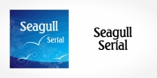 Seagull Serial font download
