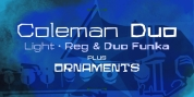 Coleman Duo font download