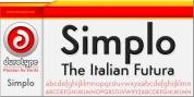 Simplo font download