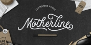 Motherline font download