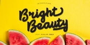 Bright Beauty font download