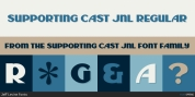 Supporting Cast JNL font download