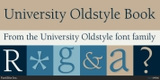 University Oldstyle font download