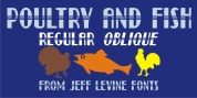 Poultry And Fish JNL font download