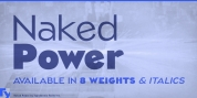Naked Power font download