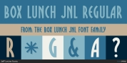 Box Lunch JNL font download