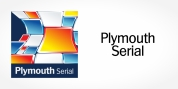 Plymouth Serial font download