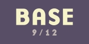Base 9 and 12 font download