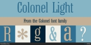 Colonel font download