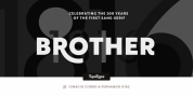 Brother 1816 font download