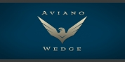 Aviano Wedge font download