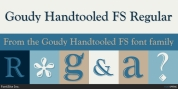 Goudy Handtooled FS font download