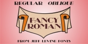 Fancy Roman JNL font download