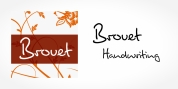 Brouet Handwriting font download