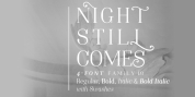 Night Still Comes font download