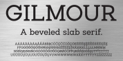 Gilmour font download