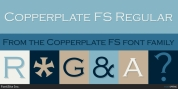 Copperplate FS font download