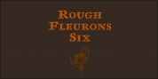 Rough Fleurons font download