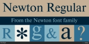 Newton font download