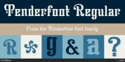 Tenderfoot font download