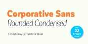 Corporative Sans Rounded Condensed font download