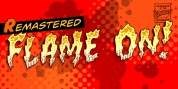 Flame On font download