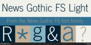 News Gothic FS font download