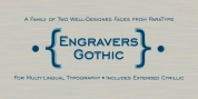 Engravers Gothic font download