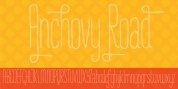 Anchovy Road font download