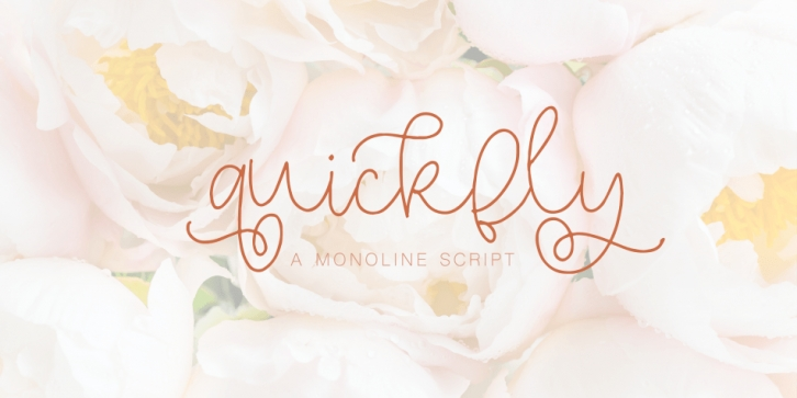 Quickfly font preview