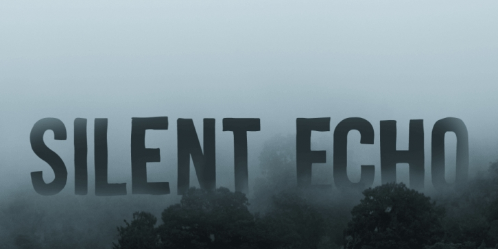 Silent Echo font preview