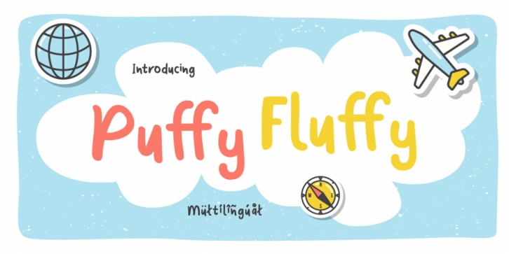Puffy Fluffy font preview