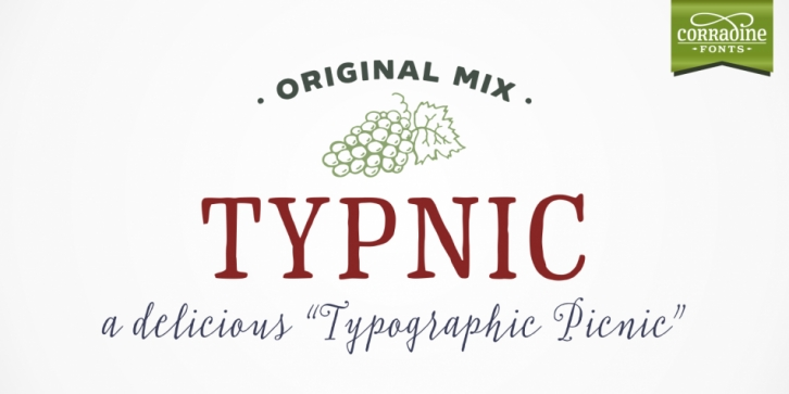 Typnic font preview