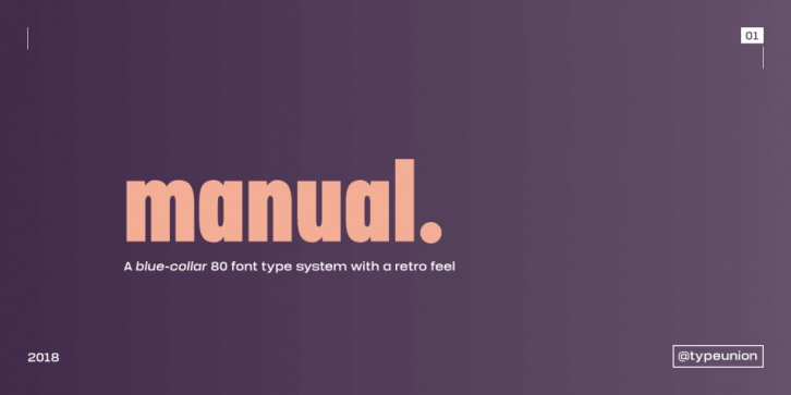 Manual font preview