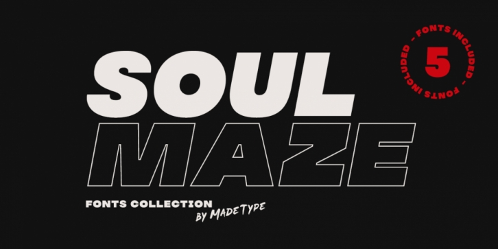 MADE Soulmaze font preview