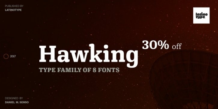 Hawking font preview